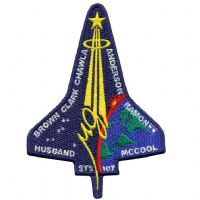 NASA STS-107 Columbia Mission Patch